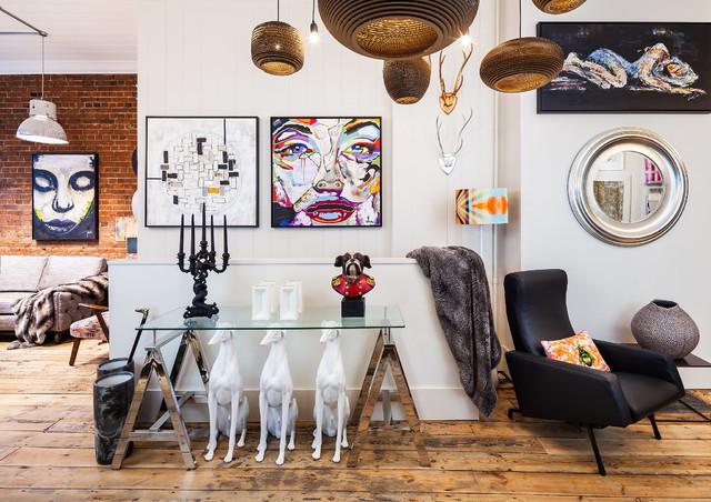 15 Dove Street eclectic-corridor