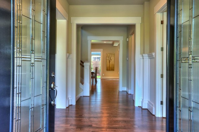 3. Hallway. The Florence Home Design contemporary-hall