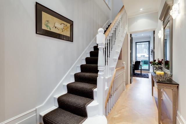 Advantage basements london contemporary hall london for Advantage basements