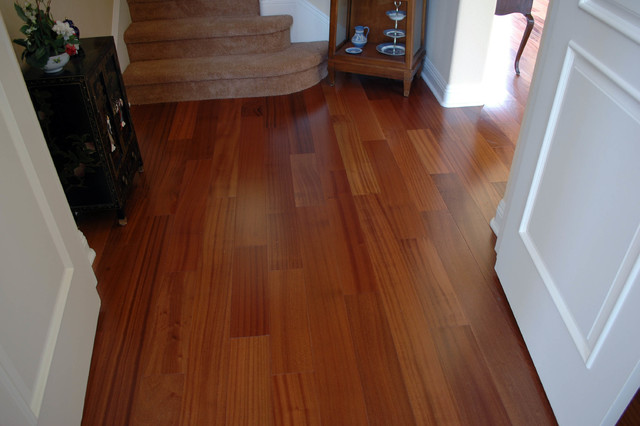 African sapele flooring traditional hall san diego for Wooden flooring dealers