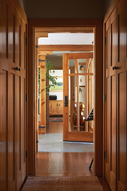 Andrews Residence - Craftsman - Hall - san francisco - by Mayfield Architects