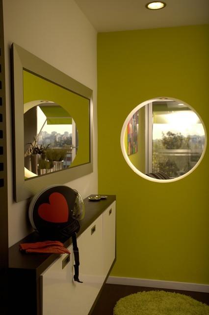 Apartment, block 70, New Belgrade modern-entry