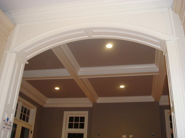 Arch Opening And Rise Panel Mouldings
