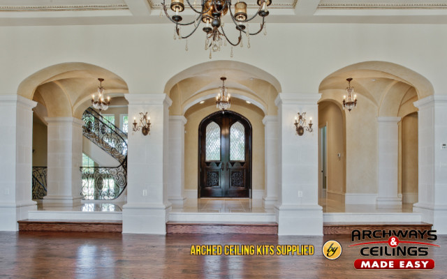 Arched Ceilings Hall Dallas By Archways And Ceilings
