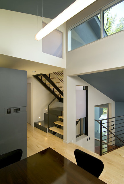 Arlington Residence contemporary-hall