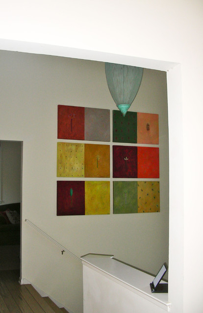 Art in the Hallway above stairs hall