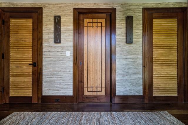 Asian Inspired Retreat in Palm Beach - Custom Bamboo Doors asian-hall & Asian Inspired Retreat in Palm Beach - Custom Bamboo Doors - Asian ...