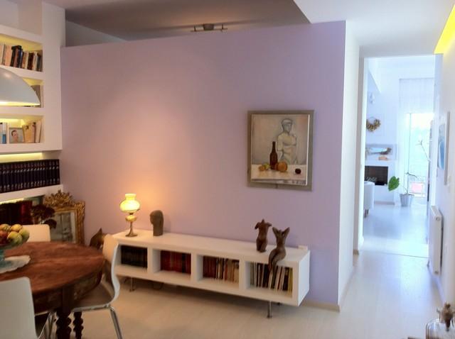 Athenian apartment renovation modern-hall