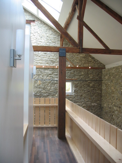 Bank Barn Renovation Contemporary Hall Philadelphia
