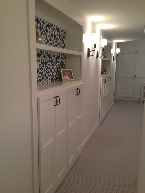 Foyer Hallway Questions : Basement remodel adding more storage in a small space