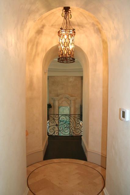 Bayside Custom Estate mediterranean-hall