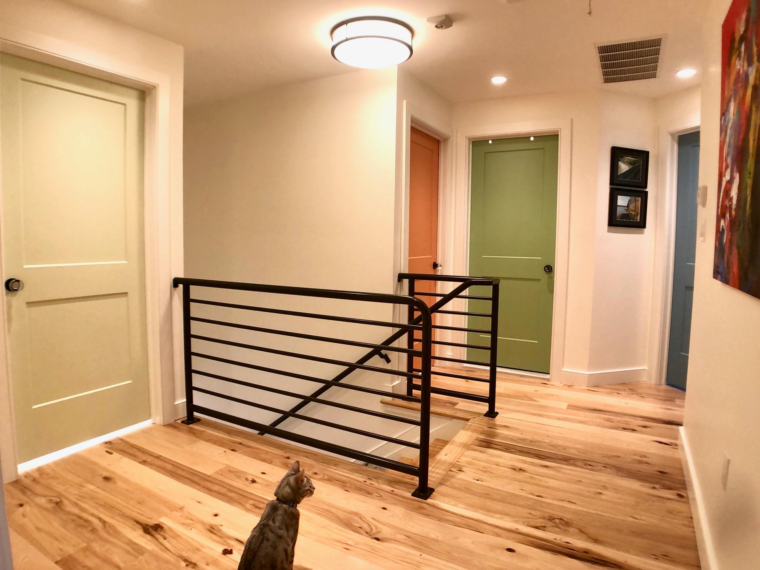 Beach House Interior Hallway