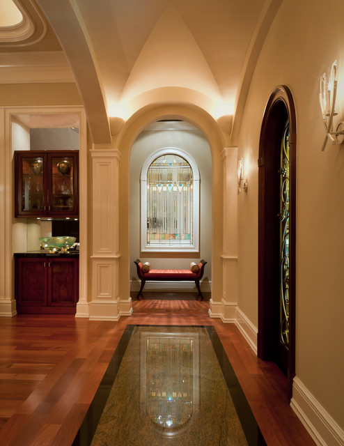 Bentgrass Bend, Naples, FL, Private Residence traditional-hall