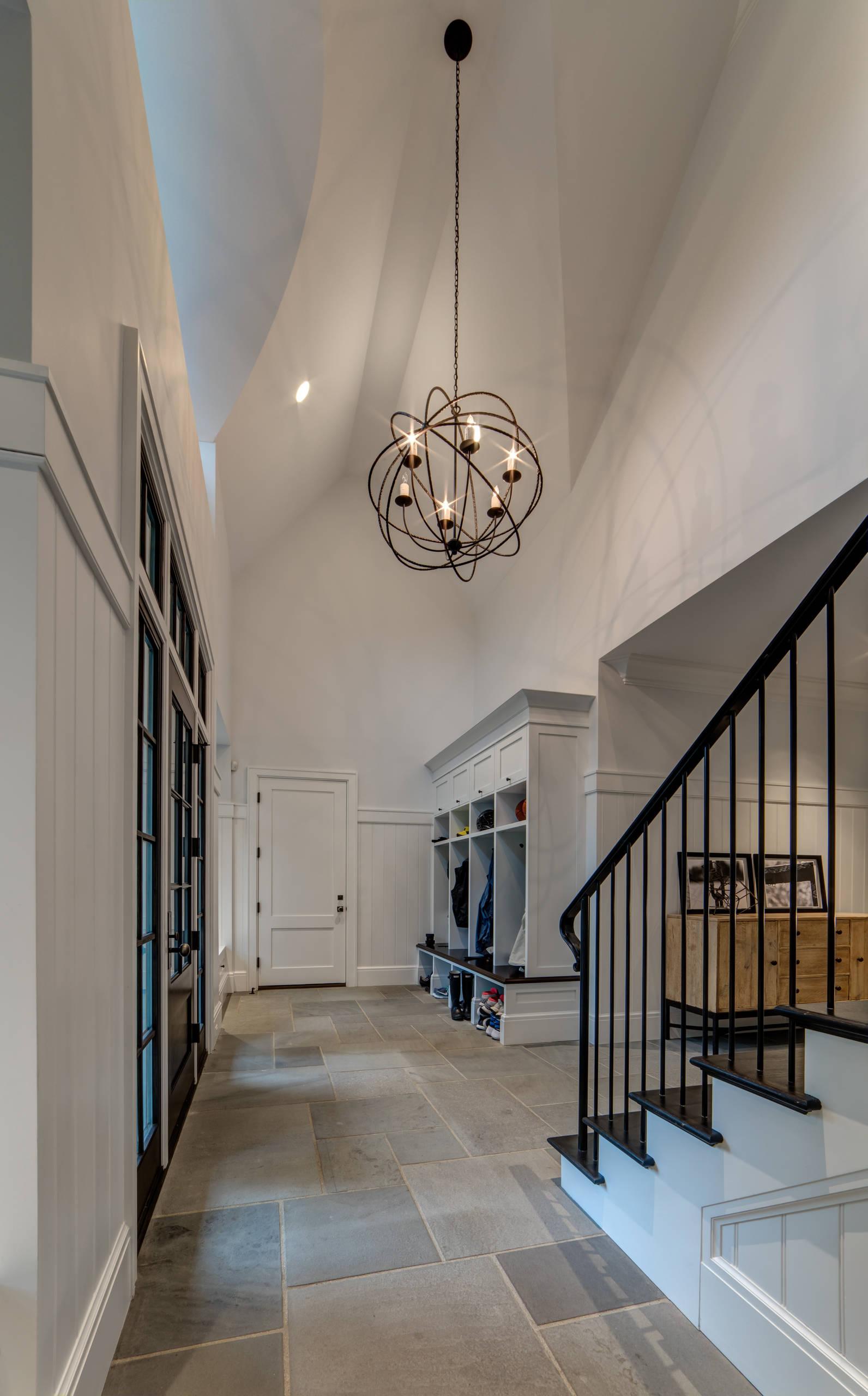 Bloomfield Hills Mud Room and Hallway