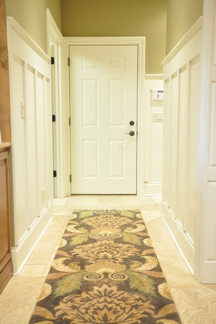 Board and Batten Hallway traditional-hall