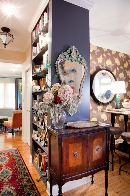 Eclectic Hall by Lisa Wolfe Design, Ltd