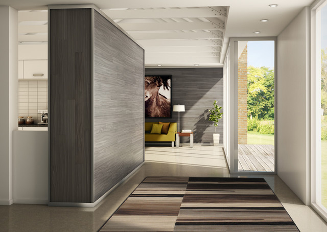 Bolero rug in modern hallway modern hall toronto for Modern house hallway