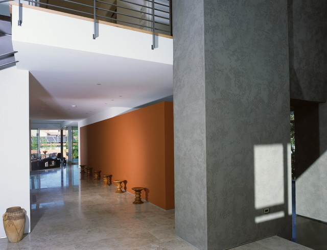 Boxenbaum residence modern hall los angeles by - Limposante residence contemporaine de ehrlich architects ...