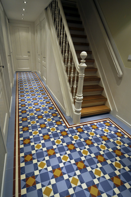 Brighton Traditional Tile Hallway By Winckelmans Traditional Hallway Amp Landing Amsterdam