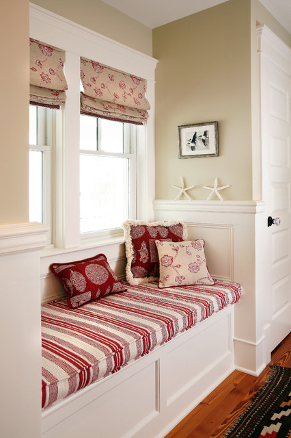 Built Ins beach-style-hall