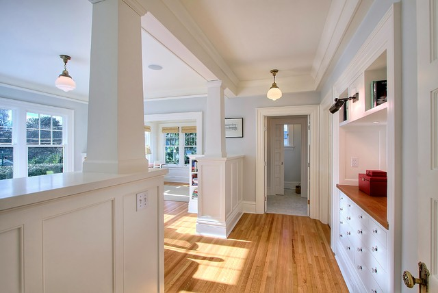 Built-Ins traditional-hall