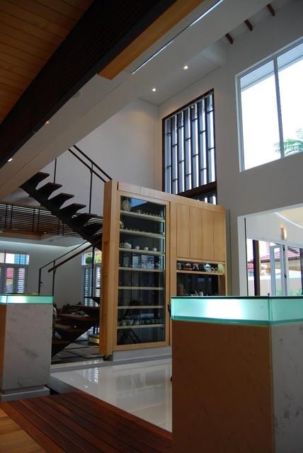 Bukit tinggi residence interior design klang malaysia asian hall