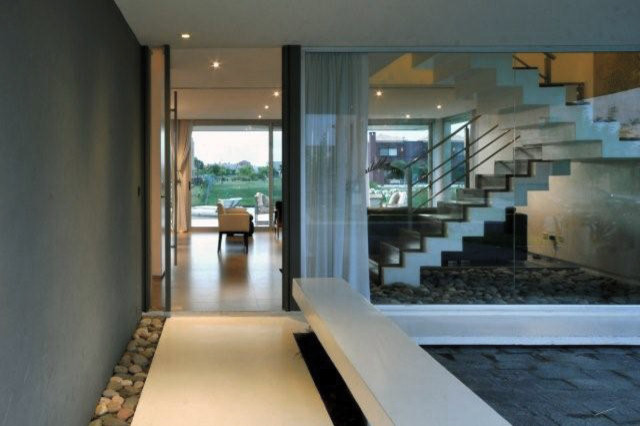 Cabo House contemporary-hall
