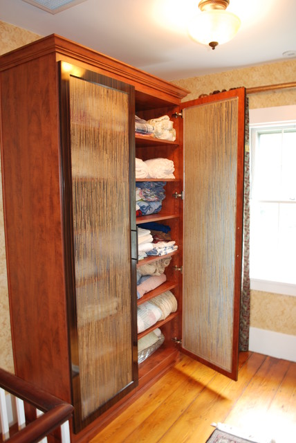 California Closets Virtuoso Style Closet And A Linen Armoire Modern Hall