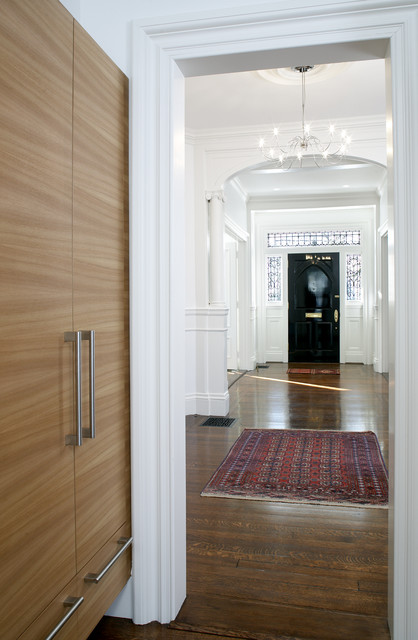 Modern Foyer Houzz : Cambridge contemporary entry hall