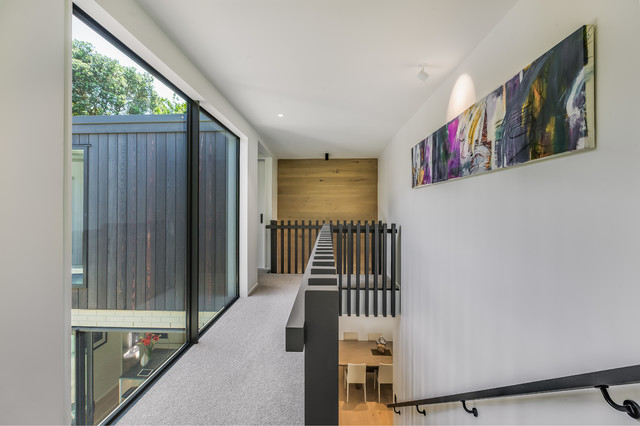Campbells Bay Residence contemporary-hall