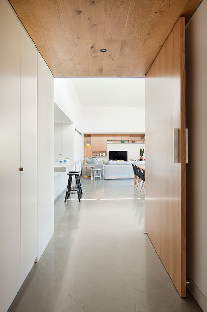 Canopy House Contemporary Hall Melbourne By Bower Architecture