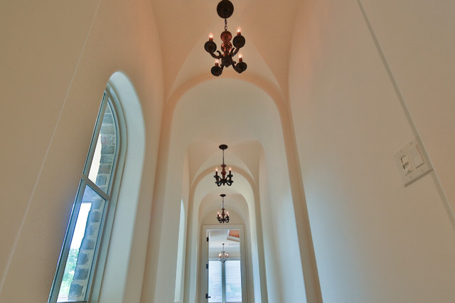 Inspiration for a timeless hallway remodel in Dallas