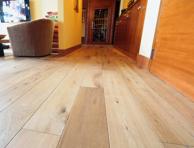Chateau Natural Plank Floor In Residence Contemporary