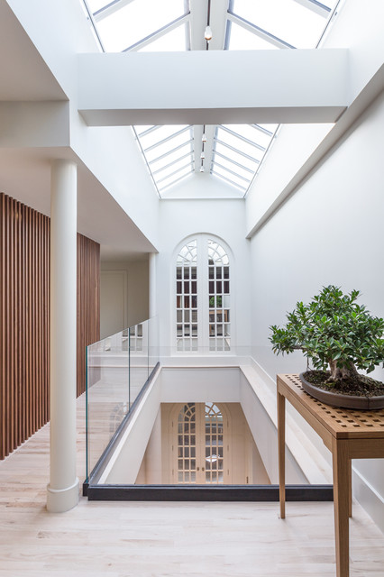 Interior Designers U0026 Decorators. Chelsea Penthouse Duplex Loft  Contemporary Hall