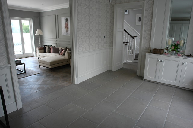 Chelsea Residence Grey Stone Flooring Project