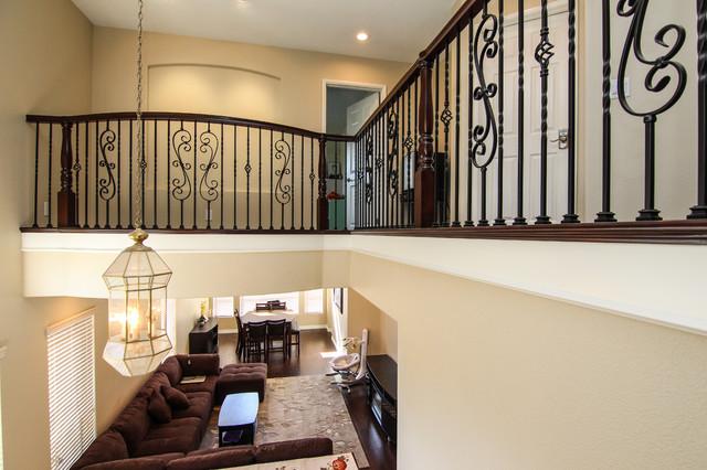 Chino Hills Loft Addition Bedroom Traditional Hall