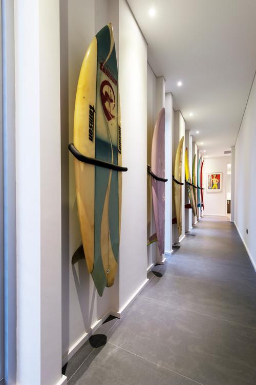 crea una colección digna de un museo en tu pasillo