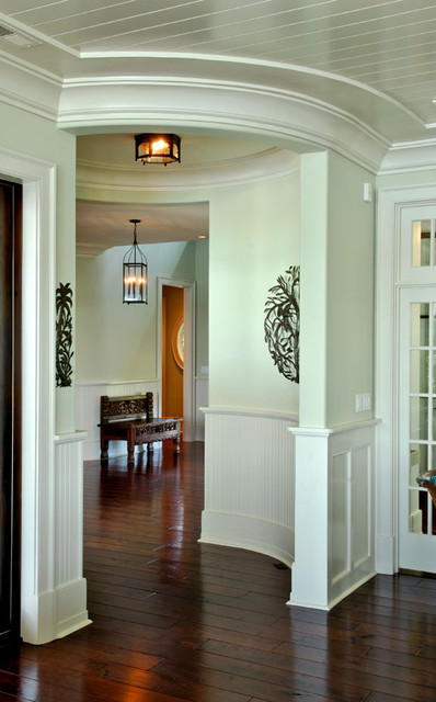 Small Foyer Ideas Houzz : Circular camera small room transition from foyer to
