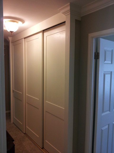 Closet Doors Floor To Ceiling All Slide By Traditional