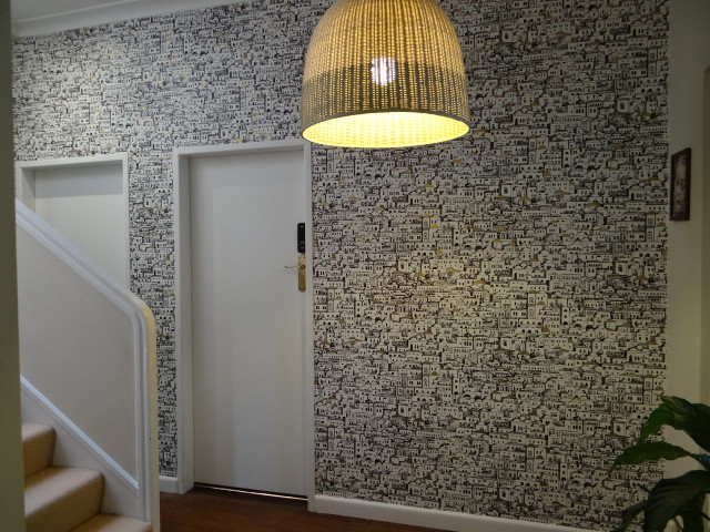 Cole amp Sons Mediterainea Wallpaper Hallway Mediterranean Hall