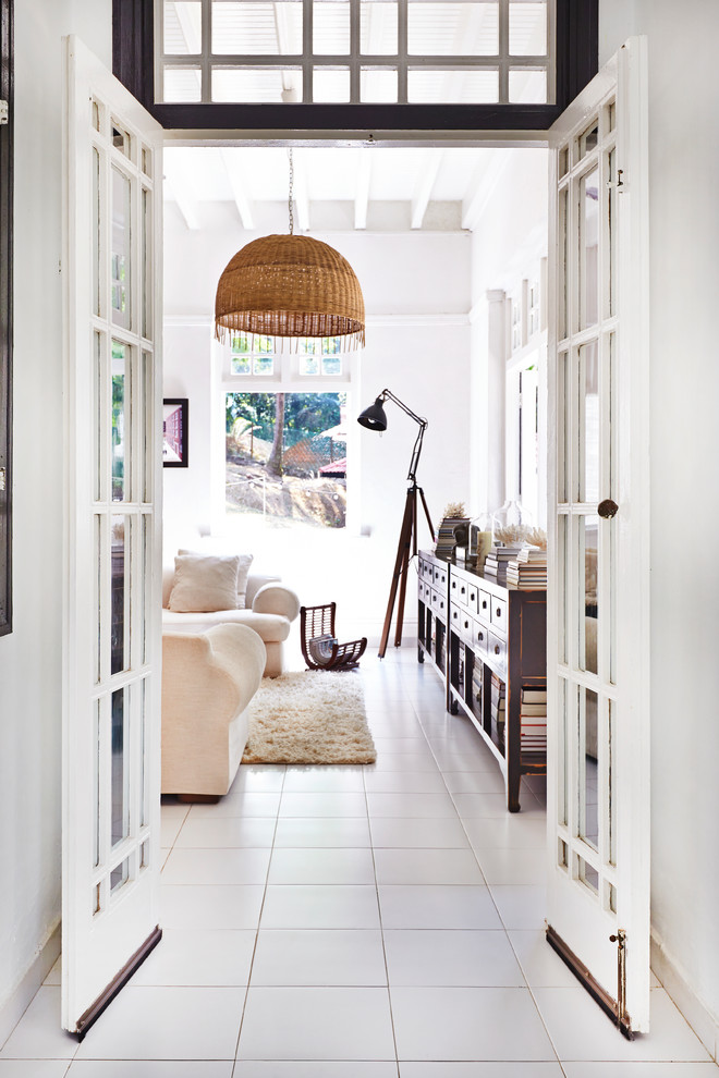 Example of a hallway design in London