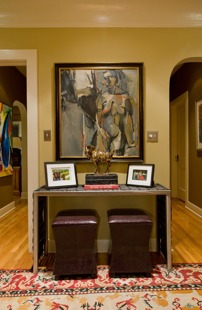 console table eclectic-hall