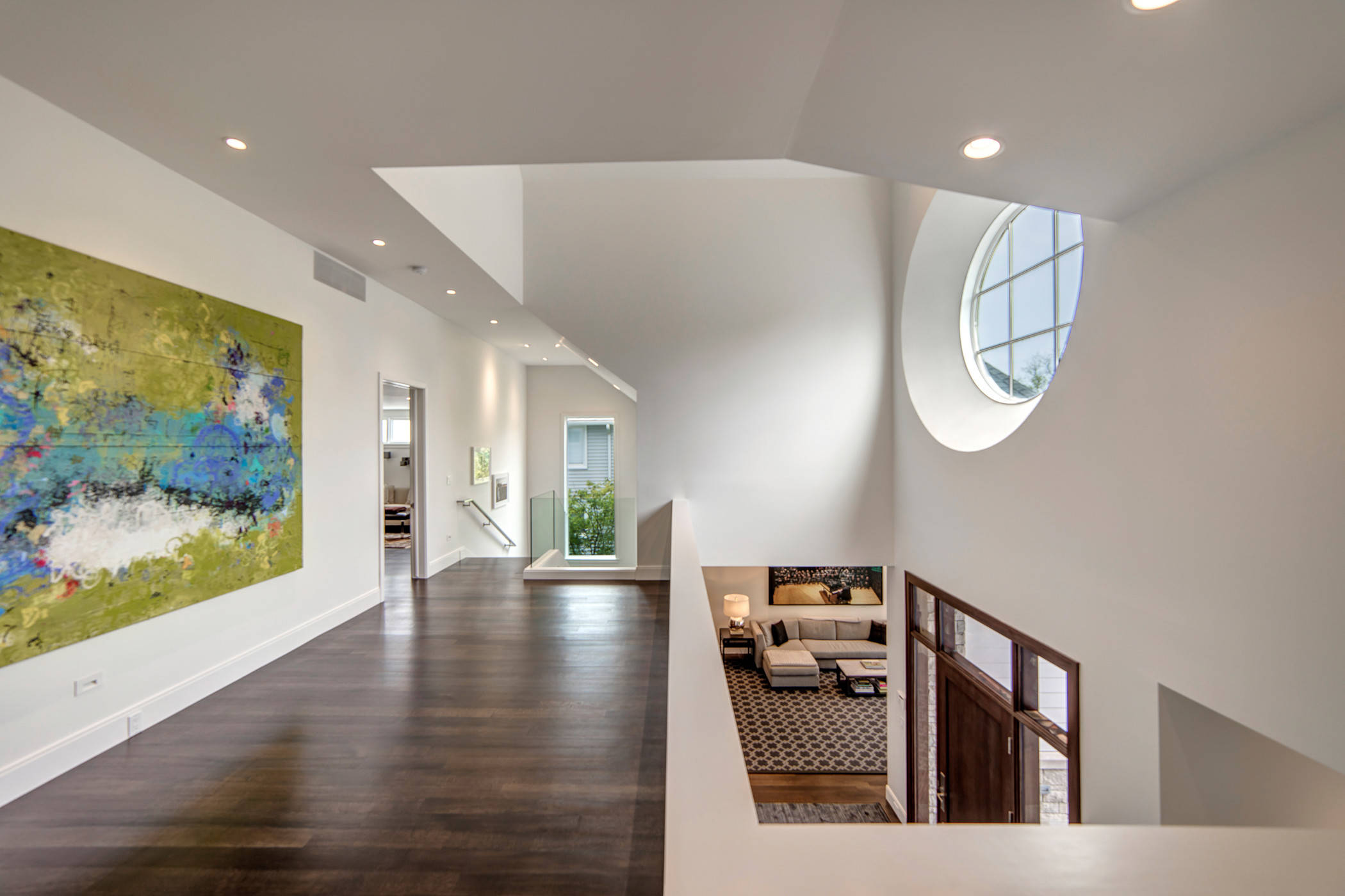 Contemporary Lake House, Bloomfield Hills, MI