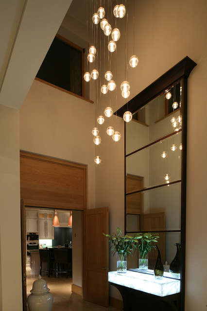 lighting for hallways and landings. Contemporary New Build Home - South Yorkshire Contemporary-hallway-and- Landing Lighting For Hallways And Landings G