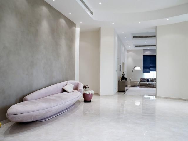 Contemporary Villa - Manama modern-hall