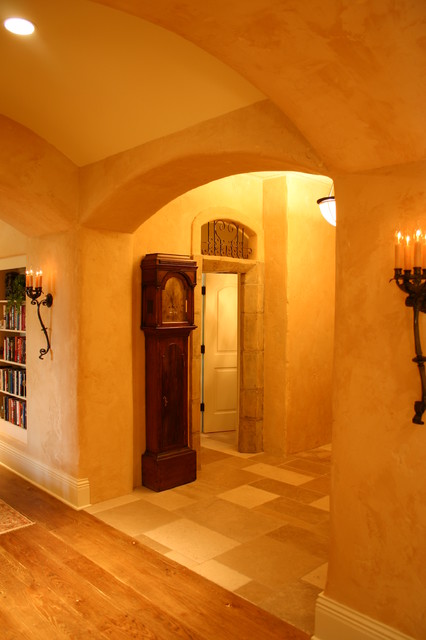Country French Estate: Hallway traditional-hall