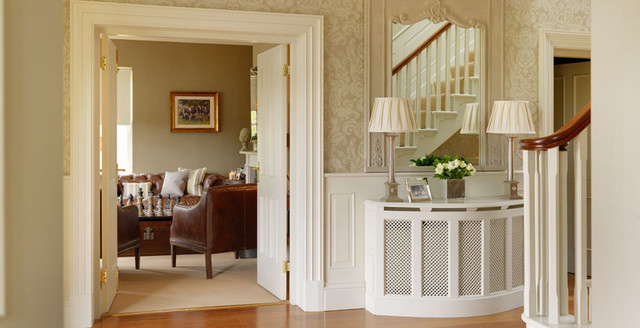 loft extension storage ideas - Country House Ireland Traditional Hall dublin by