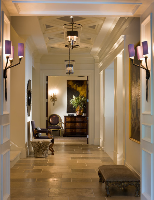 Country house contemporary-hall