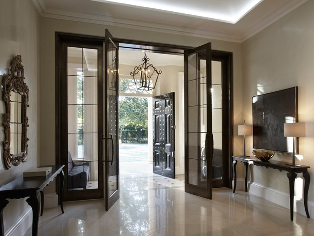 Country house windsor hallway landing london by for Entrance hall design