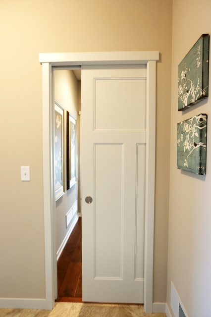 Pocket Amp Barn Doors Craftsman Hall Other Metro By